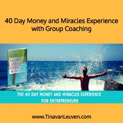 40 Day Money and Miracles Experience with Group Coaching